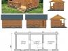 Типовой проект бани №57