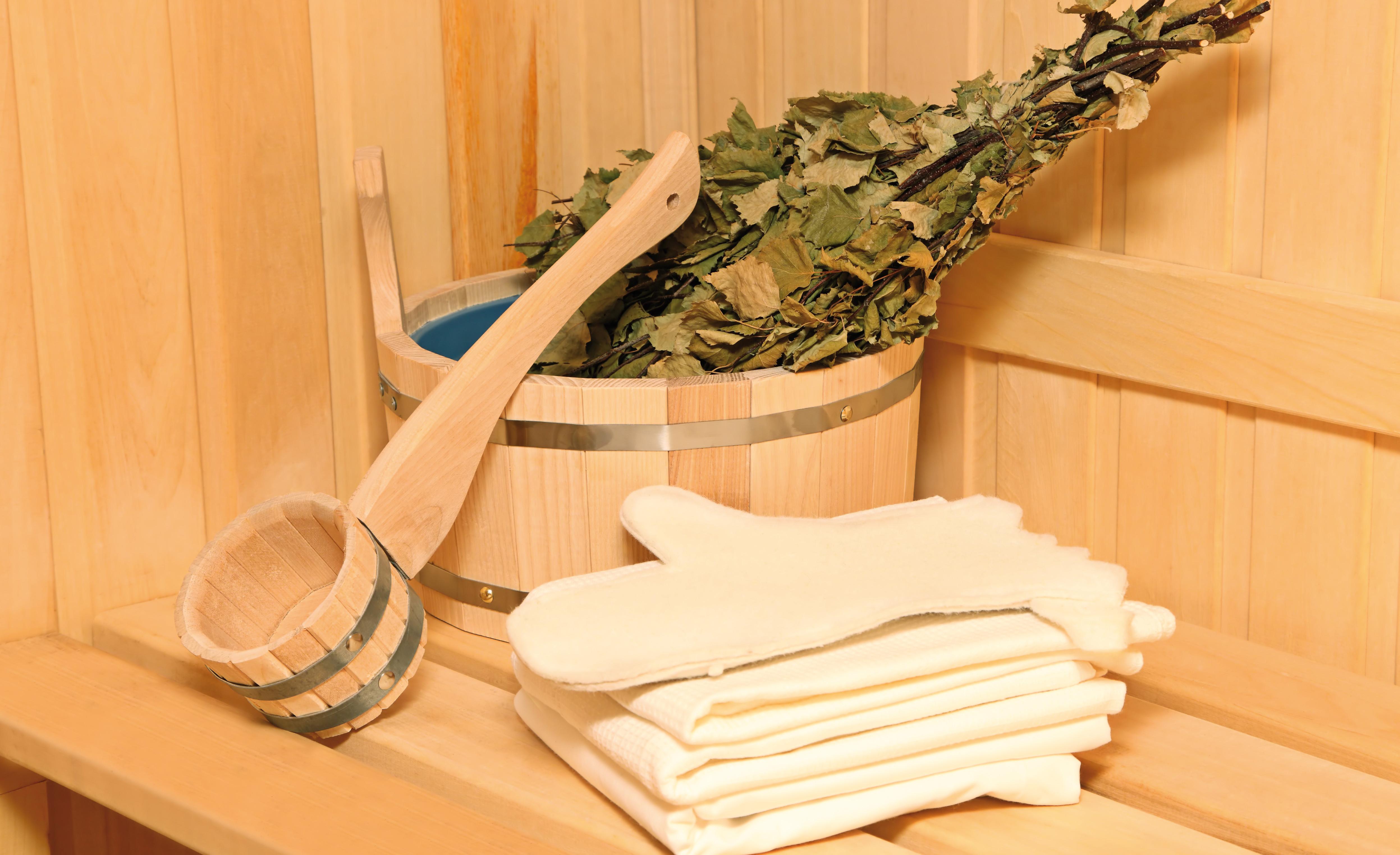 Аксессуары для сауны и бани