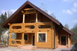 Схема-проект деревянного дома